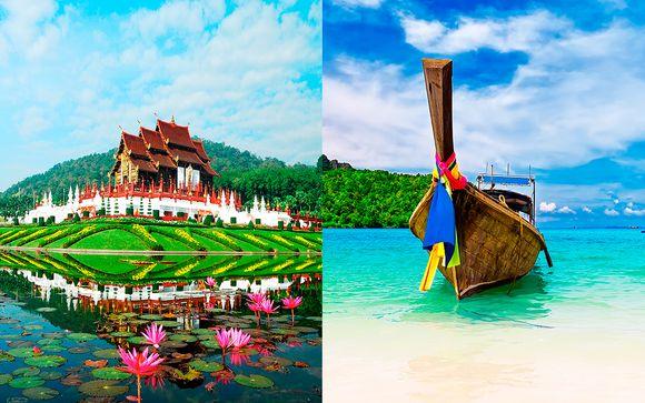 Asombrosa aventura triple en el paraíso con vuelos