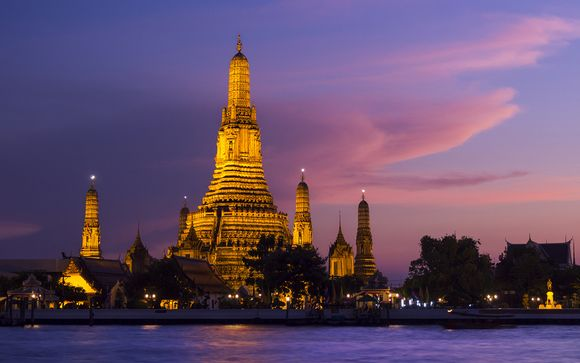 Crucero por el río Chao Praya