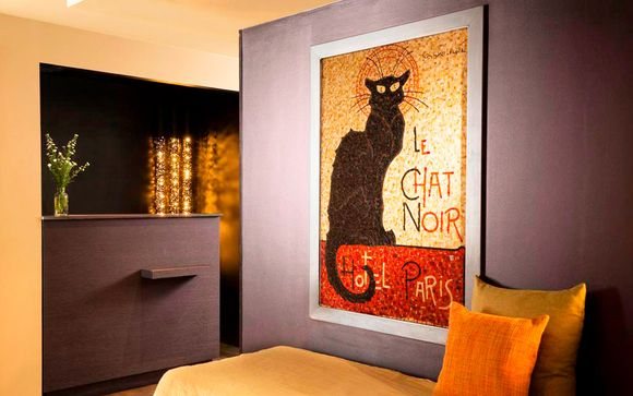 Francia París - Hotel Le Chat Noir 4* desde 47,00 €