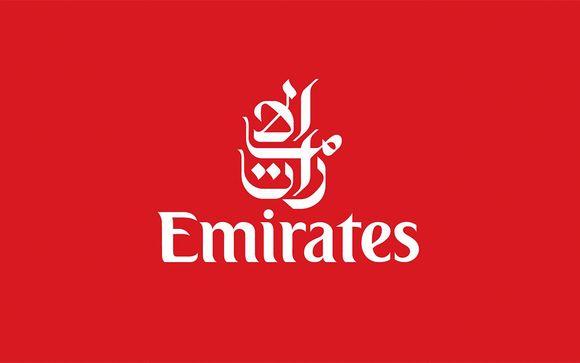 Emirates, compañía preferente en Voyage Privé