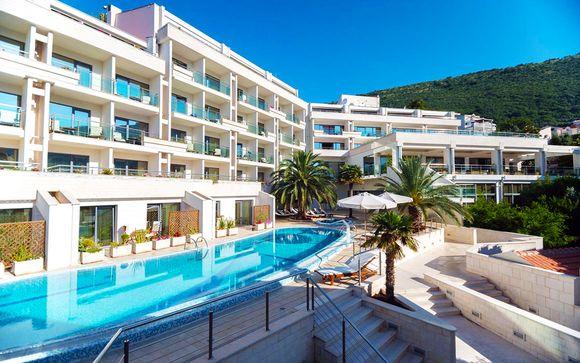 Montenegro Petrovac - MonteCasa Spa & Wellness Hotel 4* desde 232,00 €