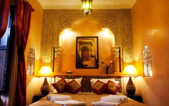 Habitaciones Riad Rose d'Orient