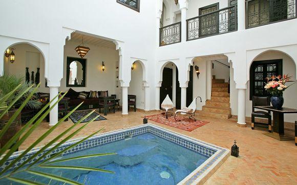 Marruecos Marrakech - Riad Baba Ali 4* desde 79,00 ? con Voyage Prive en Marrakech Marruecos