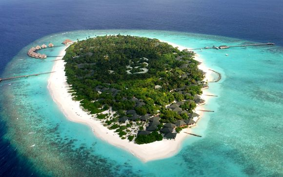 Maldivas Raa Atoll - Adaaran Select Meedhupparu 4* desde 1.709,00 ? con Voyage Prive en Raa Atoll Maldivas