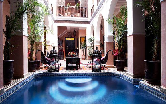 Marruecos Marrakech  Riad La Rose d'Orient  desde 54,00 €