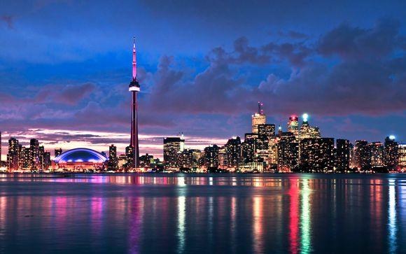 Canadá Toronto Costa Este con 3 o 5 noches en Nueva York desde 2.195,00 €