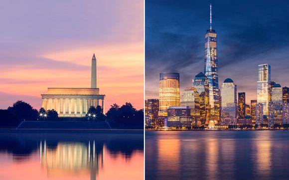 Capitales de la Costa Este con Nueva York