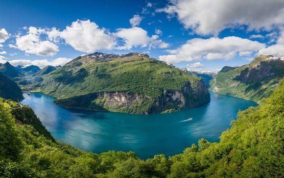 Majestuosos Fiordos Noruegos