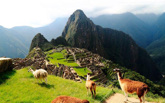 Por el camino Inca