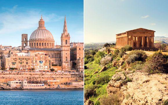 Combinado entre Sicilia y Malta en barco en hoteles de 4*