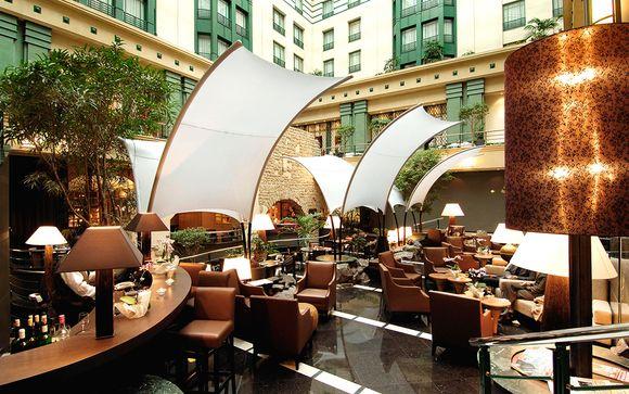 Estancia de lujo en el centro de la capital belga con desayuno
