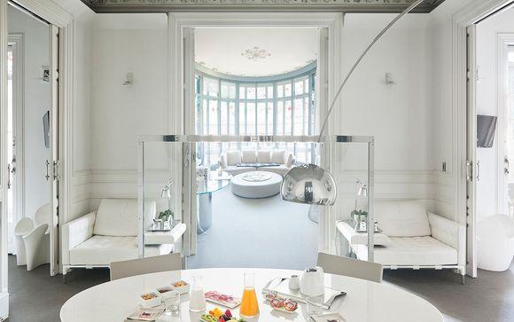 Lujo y comodidad desde tu Suite Mezzanine Tibidabo
