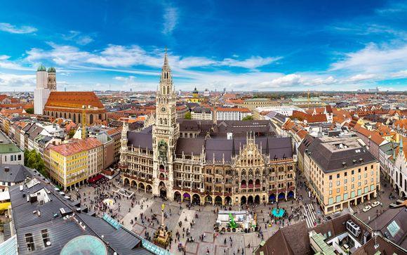 Alemania Múnich - Vi Vadi Hotel Bayer 89 desde 55,00 €
