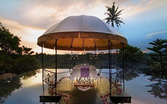 Exotismo en Ubud y playas paradisíacas en 5* con vuelos