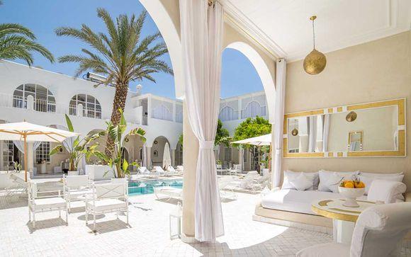 Marruecos Marrakech - Palais Blanc Riad desde 120,00 €