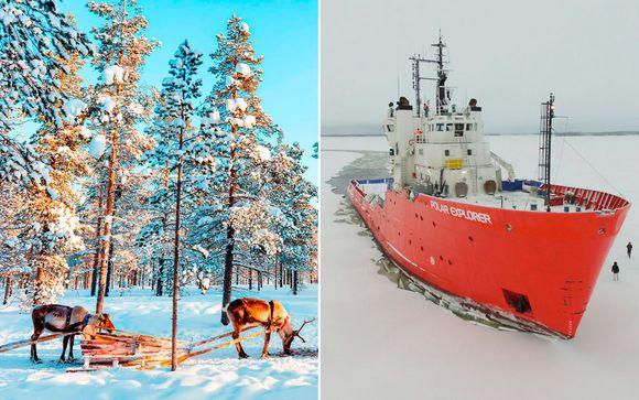 Blancas vacaciones en los países nórdicos