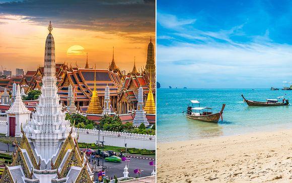 Tailandia Bangkok - Column Hotel Bangkok 4* y Aonang Villa Resort 4* desde 1.188,00 €