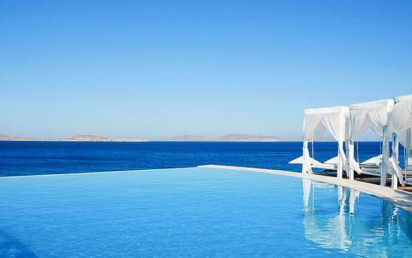Lujo y belleza paradisíaca en el Mar Egeo