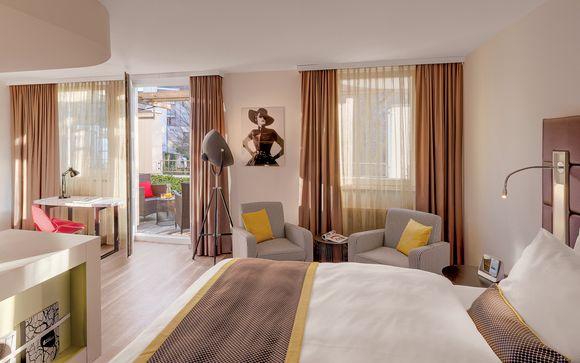 Hotel Indigo Düsseldorf - Victoriaplatz 4*