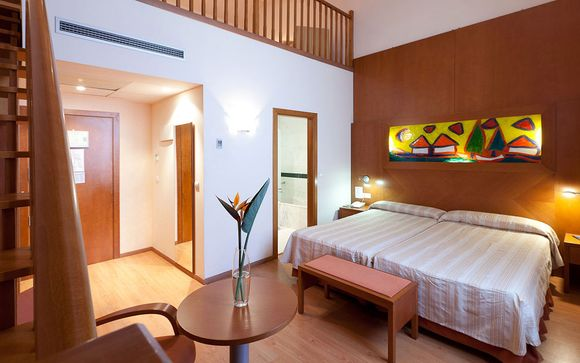 Tranquilidad en una Junior Suite en un edificio único