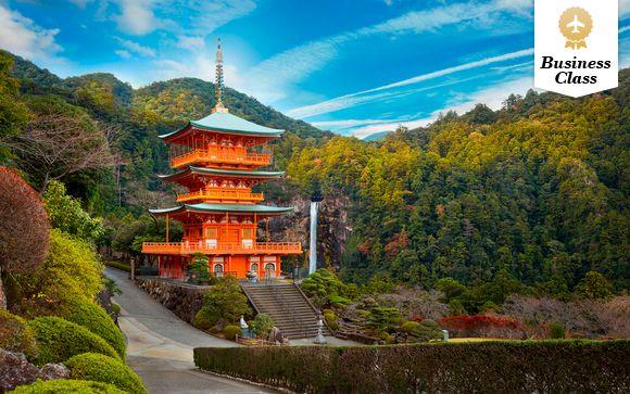Experiencia espiritual y vuelos con Japan Air en Business