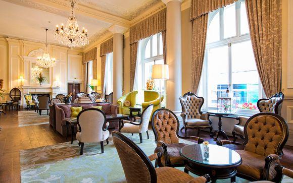 Majestuoso y elegante hotel junto al Buckingham Palace