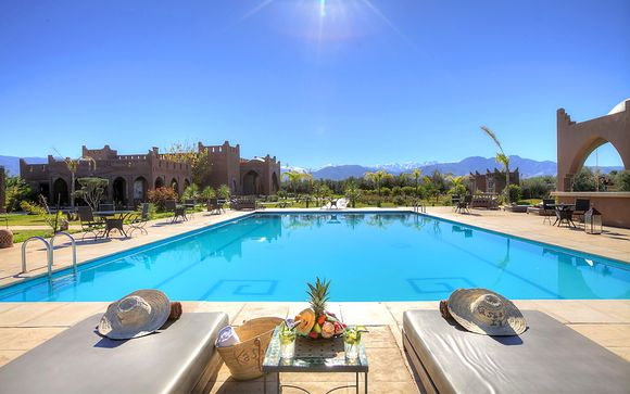 Combinado Opera Plaza Hotel Marrakech 4* y Kasbah Igoudar 5*