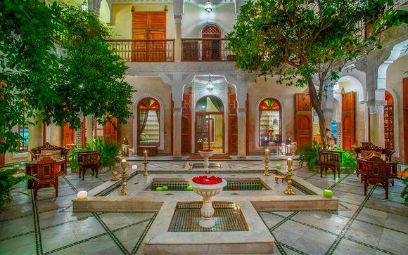 Riad exclusivo en el corazón de la medina