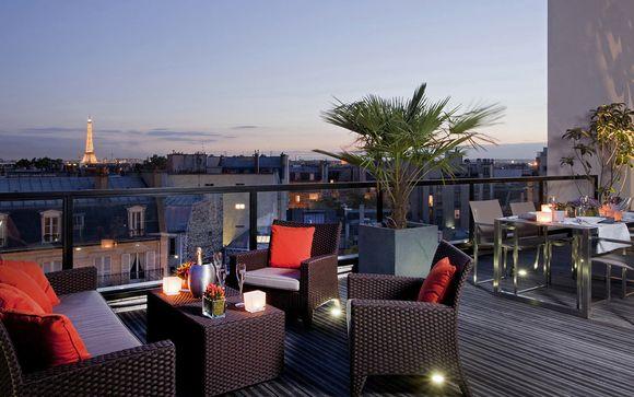 Francia París - L'Edmond Hotel 4* desde 86,00 €