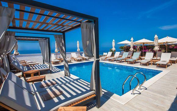 Montenegro Dobra Voda - Kalamper Hotel &amp Spa 4* desde 120,00 €