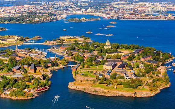 Las 4 Perlas del Báltico con 2 noches en Estocolmo