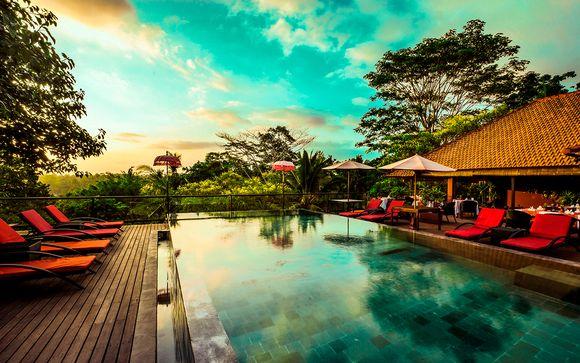 Jungle Retreat Ubud 5* y The Sintesa Jimbaran 5*