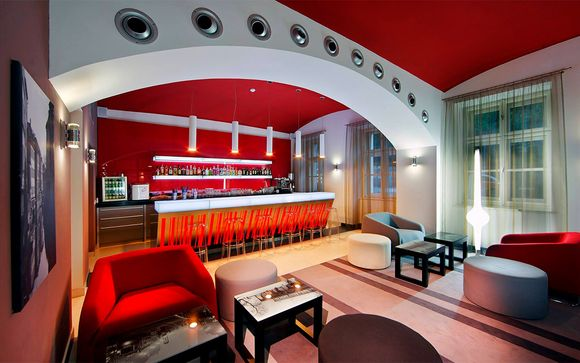 Red & Blue Design Hotel Prague 4*