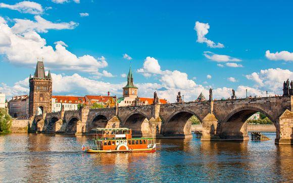 Praga y Budapest en 4*