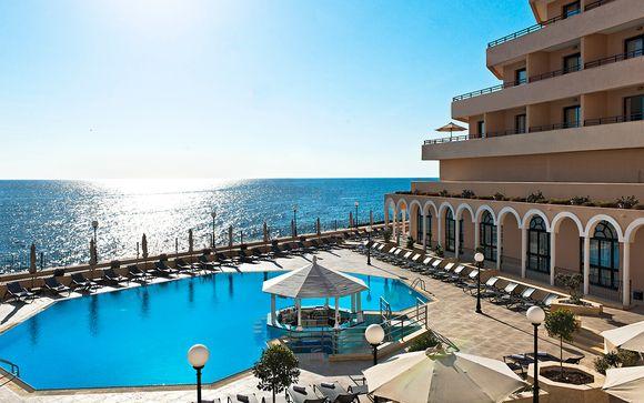 Idílicas vacaciones con vistas al mar Mediterráneo