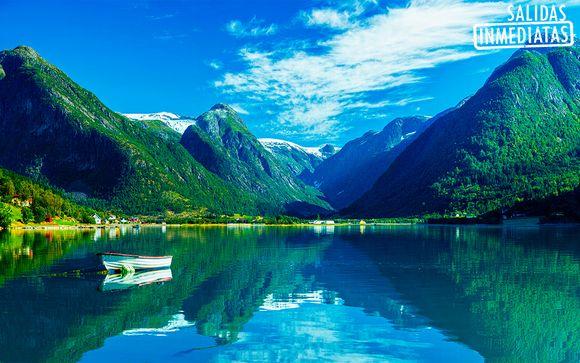 Noruega Stavanger - Fiordos al completo con 1 noche en Oslo desde 1.445,00 €