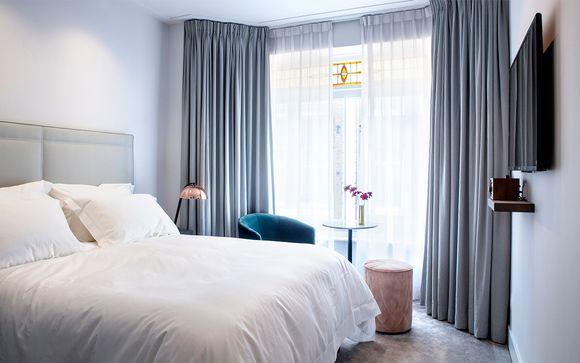A partir de Octubre: Habitación Luxury en el centro