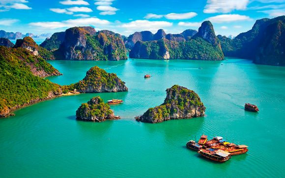 Vietnam Ho Chi Minh - Vietnam Impresionante con 2 noches en la Bahía de Halong desde 2.012,00 €