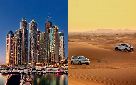 Fantástica estancia con safari por el desierto, crucero, ¡y más!