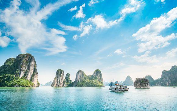Reflejos y playas de Vietnam