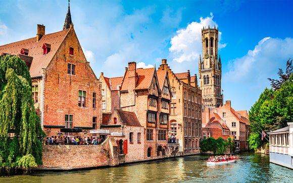 Hotel Prinsenhof 4* con opción a Bruselas