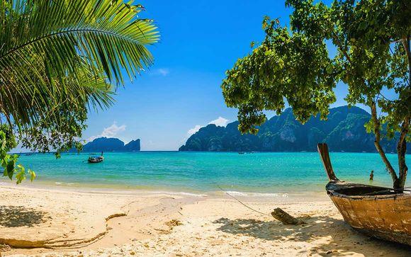 Exóticas y lujosas vacaciones en el paraíso