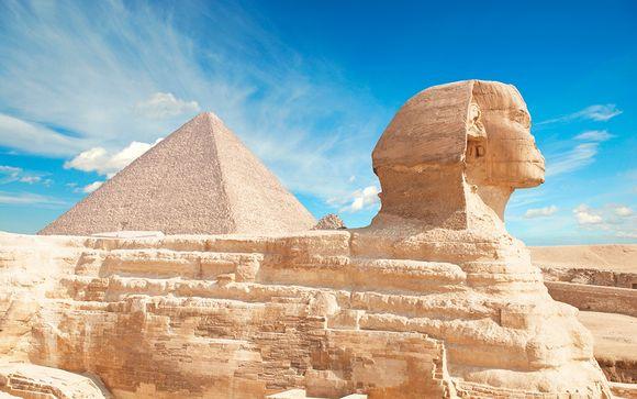 Crucero por el Nilo, vibrante capital y vuelos