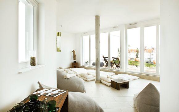 Ecohotel de diseño en Friedrichshain con acceso al spa