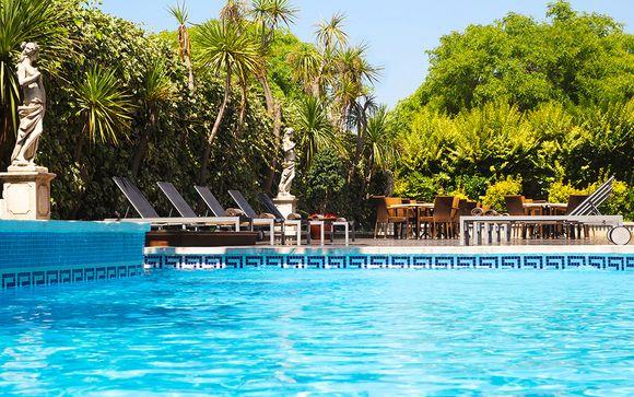 Relax y bienestar en pensión completa con acceso al spa