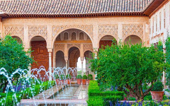 El legado de Al-Ándalus desde un hotel de diseño vanguardista