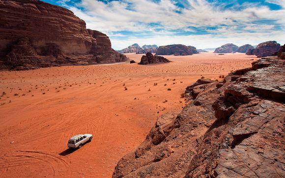 Extensión a Wadi Rum y al Mar Muerto
