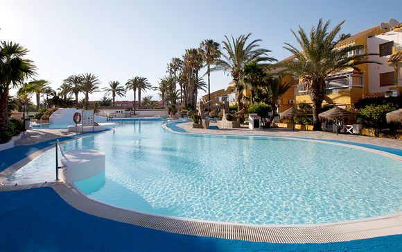 Playalinda Aquapark & Spa Hotel 4*, en Roquetas de Mar
