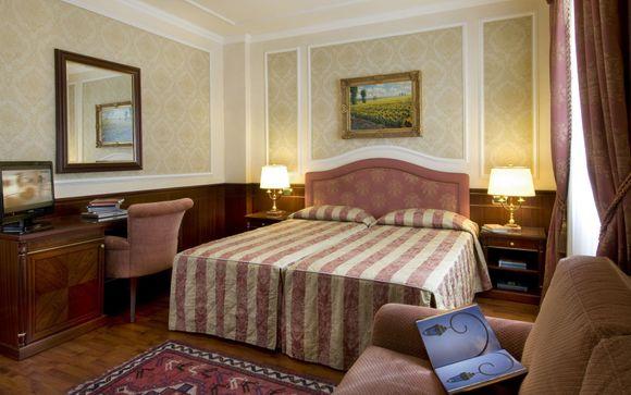 Hotel Simplon 4*, en el Lago Maggiore