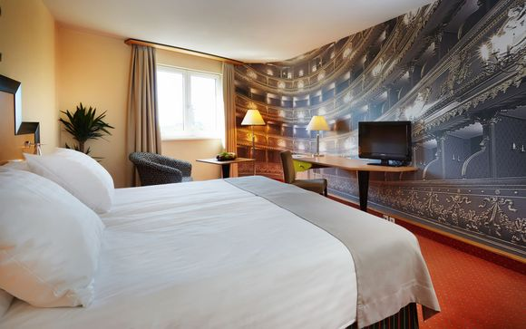 Hotel Don Giovanni Prague 4*, en Praga